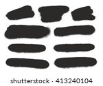 spray paint elements set 15 | Shutterstock .eps vector #413240104