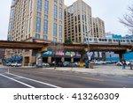 chicago  il   circa march  2016 ... | Shutterstock . vector #413260309