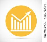 chart vector icon | Shutterstock .eps vector #413276584