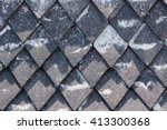 Old Roof Tiles Background.