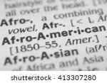 Small photo of Afro-American