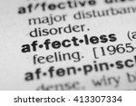 Small photo of Affectless