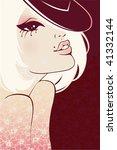 sexy girl | Shutterstock .eps vector #41332144