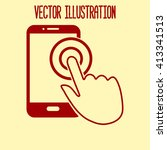touch screen smartphone sign...