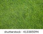 green grass background. | Shutterstock . vector #413385094