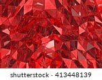 Abstract Glass Background. 3d...