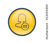 female mail user icon