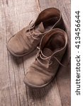 old shoes | Shutterstock . vector #413456644
