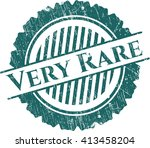 very rare rubber grunge stamp | Shutterstock .eps vector #413458204