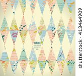 vector background vintage style.... | Shutterstock .eps vector #413464909