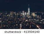 New York City Downtown Skyline...