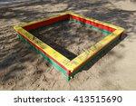 sandbox                         ... | Shutterstock . vector #413515690