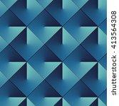 seamless op art pattern of... | Shutterstock .eps vector #413564308