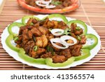 Spicy Hot Pork Meat Fry Kerala...