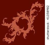 flourish silhouette   Shutterstock .eps vector #41358982