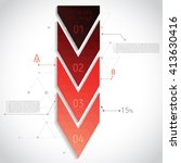 abstract geometric composition... | Shutterstock .eps vector #413630416