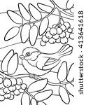 Coloring Pages. Birds. Little...