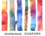 macro watercolor background... | Shutterstock . vector #413691094