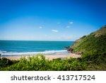 beautiful beach. lagoinha do...   Shutterstock . vector #413717524