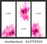 fantasy pink vector background...   Shutterstock .eps vector #413725510