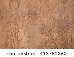 aged rusty iron texture for use ... | Shutterstock . vector #413785360