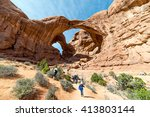 Double Arch  Arches National...
