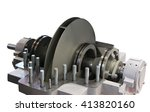 centrifugal pump with open top... | Shutterstock . vector #413820160