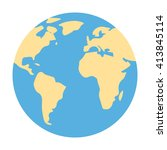 globe icon. globe icon vector....