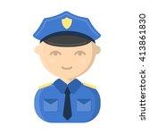 Policeman Icon. Policeman Icon...