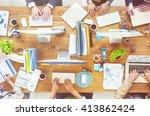 business corporation... | Shutterstock . vector #413862424
