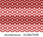 abstract seamless zigzag... | Shutterstock .eps vector #413867098