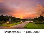 Beautiful Sunset At Suanluang...