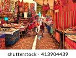 peruvian family walking in...   Shutterstock . vector #413904439