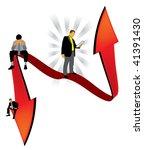 business people | Shutterstock .eps vector #41391430