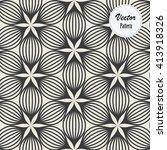vector pattern. repeating... | Shutterstock .eps vector #413918326