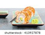 California Maki Sushi With...