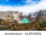 irazu volcano to the emerald... | Shutterstock . vector #413932006
