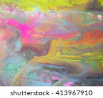 texture with marbling effect in ...   Shutterstock . vector #413967910