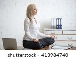 business and healthy lifestyle... | Shutterstock . vector #413984740