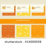 vector design kit with business ... | Shutterstock .eps vector #414000058