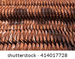 roof tile stack shot | Shutterstock . vector #414017728