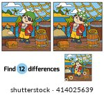 find differences  education... | Shutterstock .eps vector #414025639