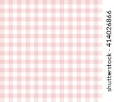 pink seamless gingham pattern | Shutterstock .eps vector #414026866