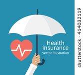 health insurance concept.... | Shutterstock .eps vector #414032119