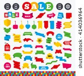 banners  web stickers and... | Shutterstock .eps vector #414036964