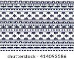 geometric ethnic pattern design ... | Shutterstock .eps vector #414093586