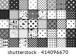 set of black and white...   Shutterstock .eps vector #414096670