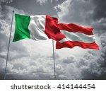 3d illustration of italy  ... | Shutterstock . vector #414144454