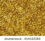 glittering gold background | Shutterstock . vector #414165283