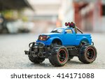 Blue Rc Off Road Truck Car ...